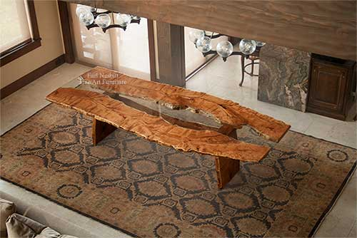 Custom Made Dining Tables, Fine Art Furniture - Earl Nesbitt